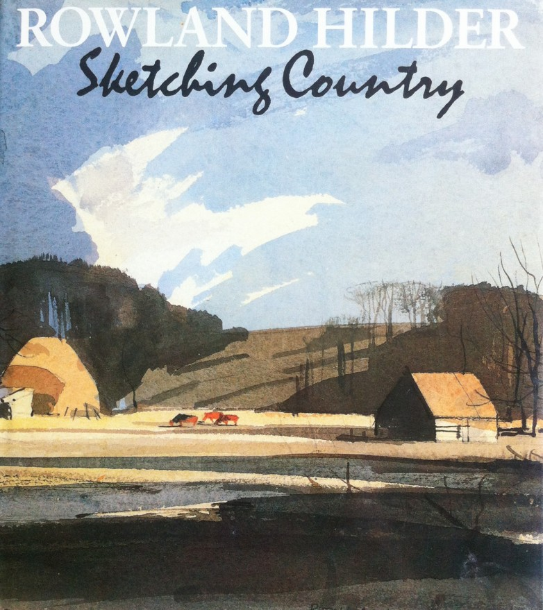 Rowland Hilder Sketching Country