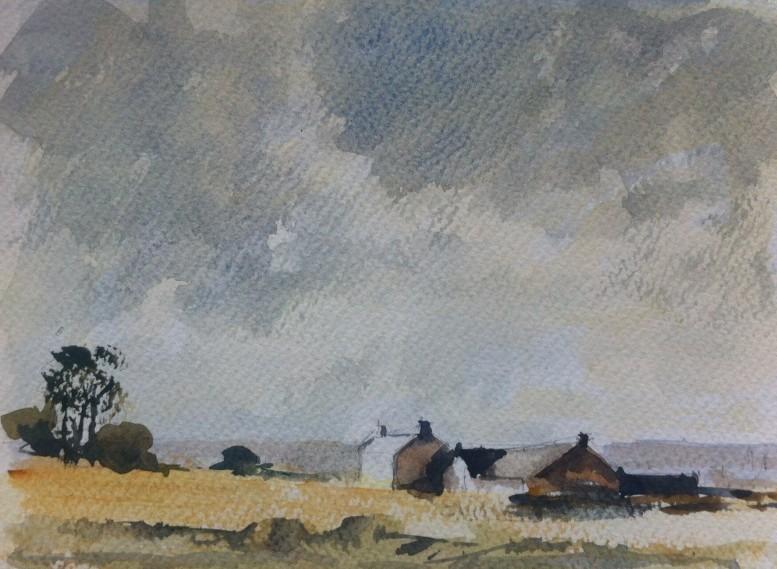 Painted in an A5 Arboreta Watercolour sketchbook