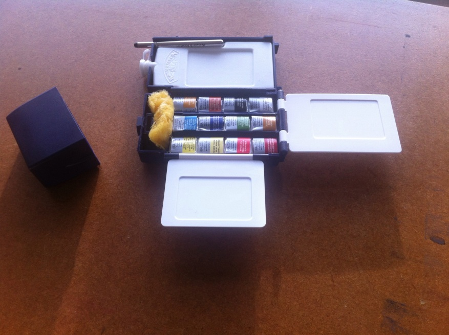 Winsor and Newton professional water colour field box