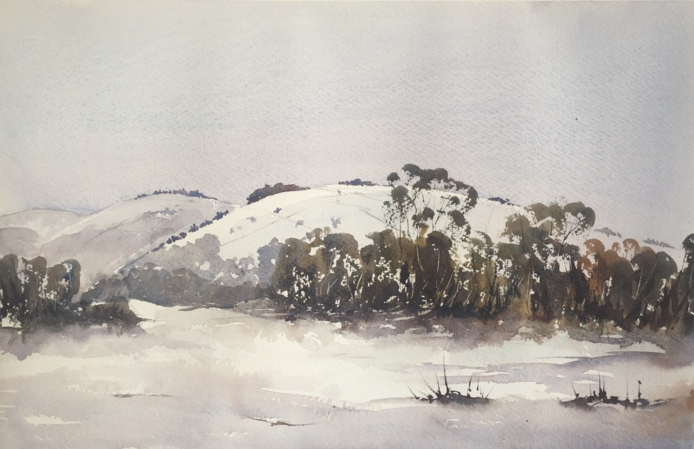 Winter Scene (after Edward Wesson)