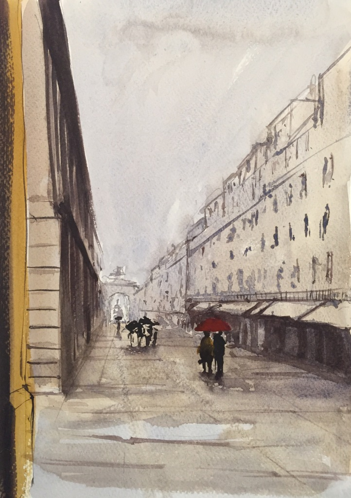 Lisbon sketch (A4)