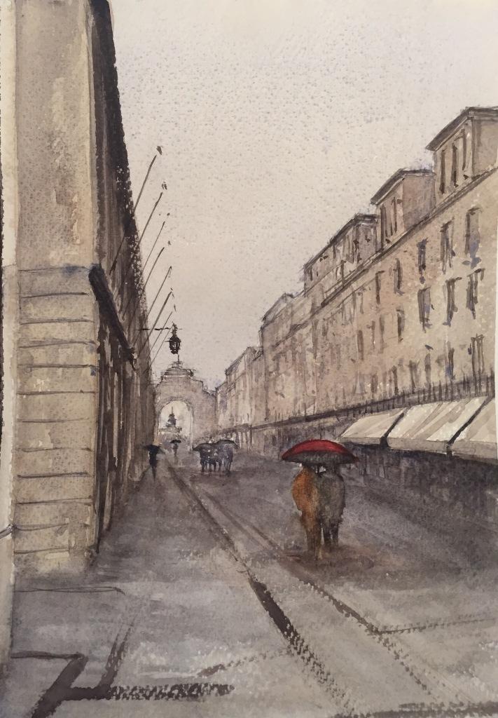 Lisbon in the rain - first effort