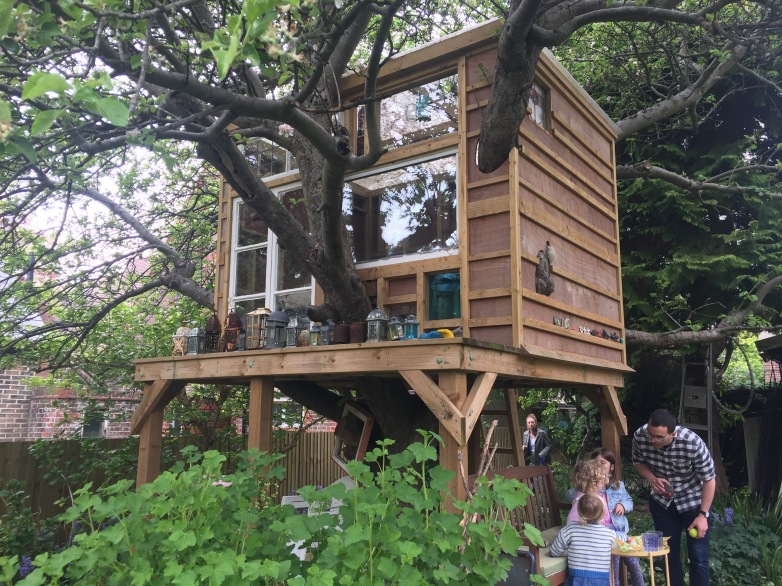Possibly the best tree house EVER!!