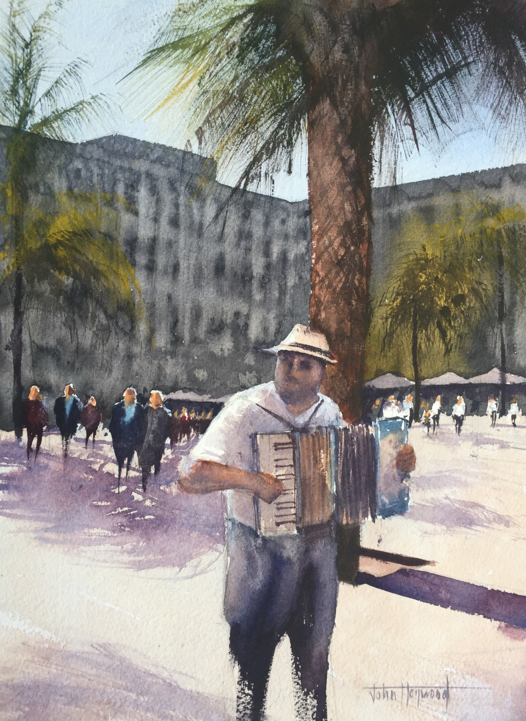 Musician, Placa Reial, Barcelona