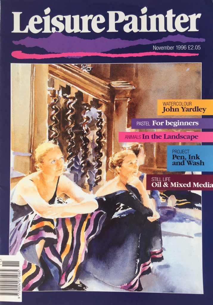 Leisure Painter cover, November 1996