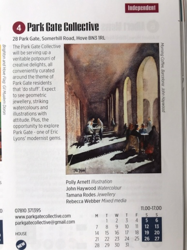 The Park Gate Collective entry on page 77!