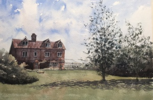 Watercolour painting by John Haywood